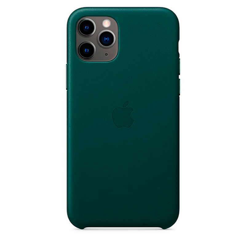 Купить Кожаный чехол oneLounge Leather Case Forest Green для iPhone 11 Pro Max OEM (MX0C2)