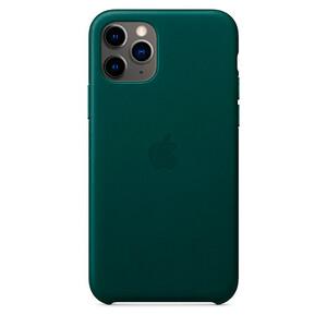 Купить Кожаный чехол oneLounge Leather Case Forest Green для iPhone 11 Pro Max OEM