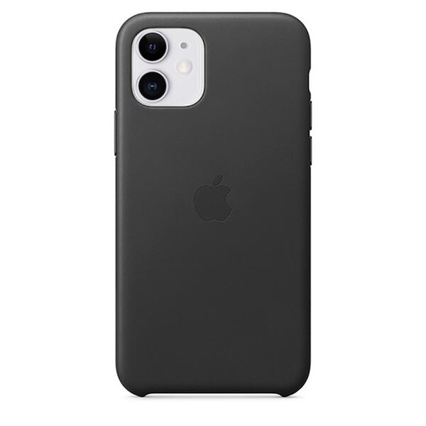 Кожаный чехол iLoungeMax Leather Case Black для iPhone 11 OEM
