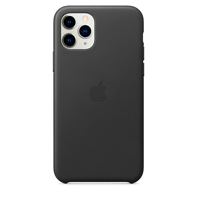 Кожаный чехол iLoungeMax Leather Case Black для iPhone 11 Pro Max OEM (MX0E2)