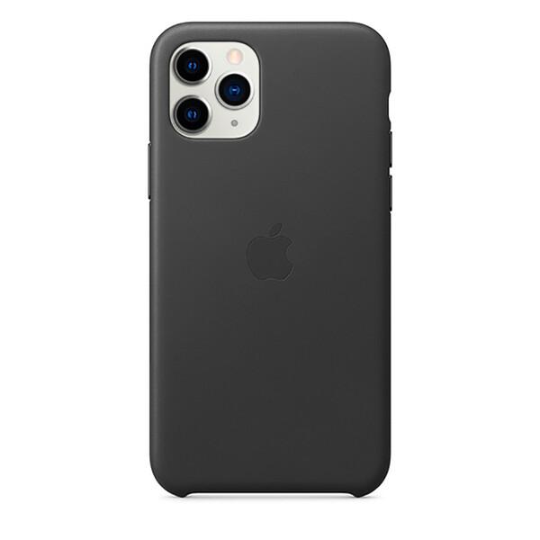 Кожаный чехол iLoungeMax Leather Case Black для iPhone 11 Pro OEM (MWYE2)