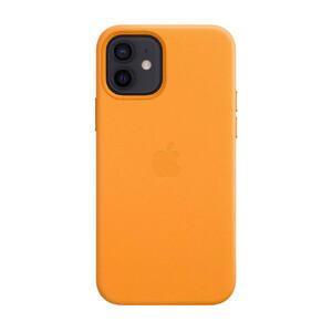 Купить Кожаный чехол oneLounge Leather Case MagSafe California Poppy для iPhone 12 | 12 Pro OEM (с поддержкой анимации)