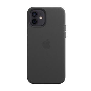 Купить Черный кожаный чехол oneLounge Leather Case MagSafe Black для iPhone 12 Pro Max OEM (с поддержкой анимации)