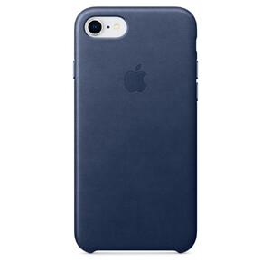 Купить Кожаный чехол iLoungeMax Leather Case Midnight Blue для iPhone SE 2020 | 7 | 8 OEM (MQH82)