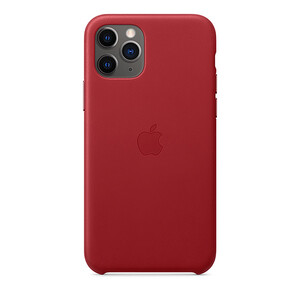 Купить Кожаный чехол iLoungeMax Leather Case (PRODUCT)RED для iPhone 11 Pro OEM (MWYF2)