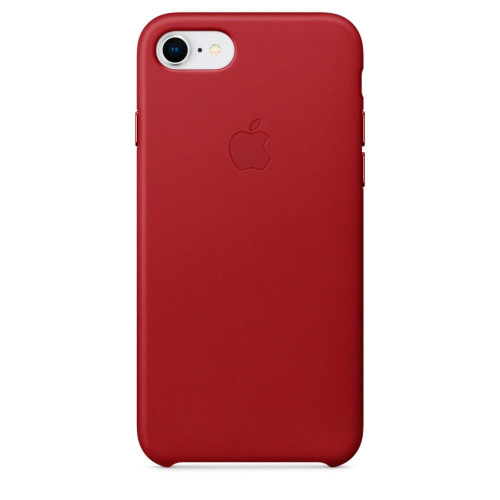 Кожаный чехол iLoungeMax Leather Case RED для iPhone SE 2020 | 7 | 8 OEM (MQHA2)