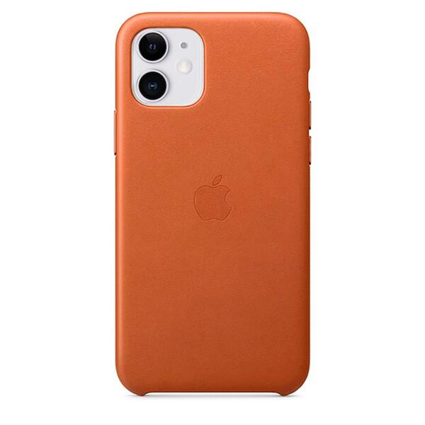 Кожаный чехол iLoungeMax Leather Case Saddle Brown для iPhone 11 OEM
