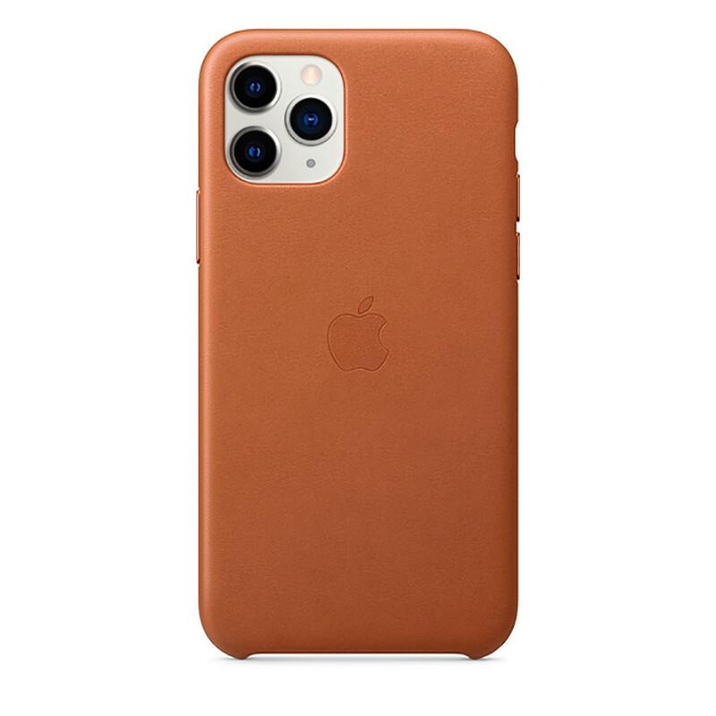 Кожаный чехол oneLounge Leather Case Saddle Brown для iPhone 11 Pro OEM (MWYD2)