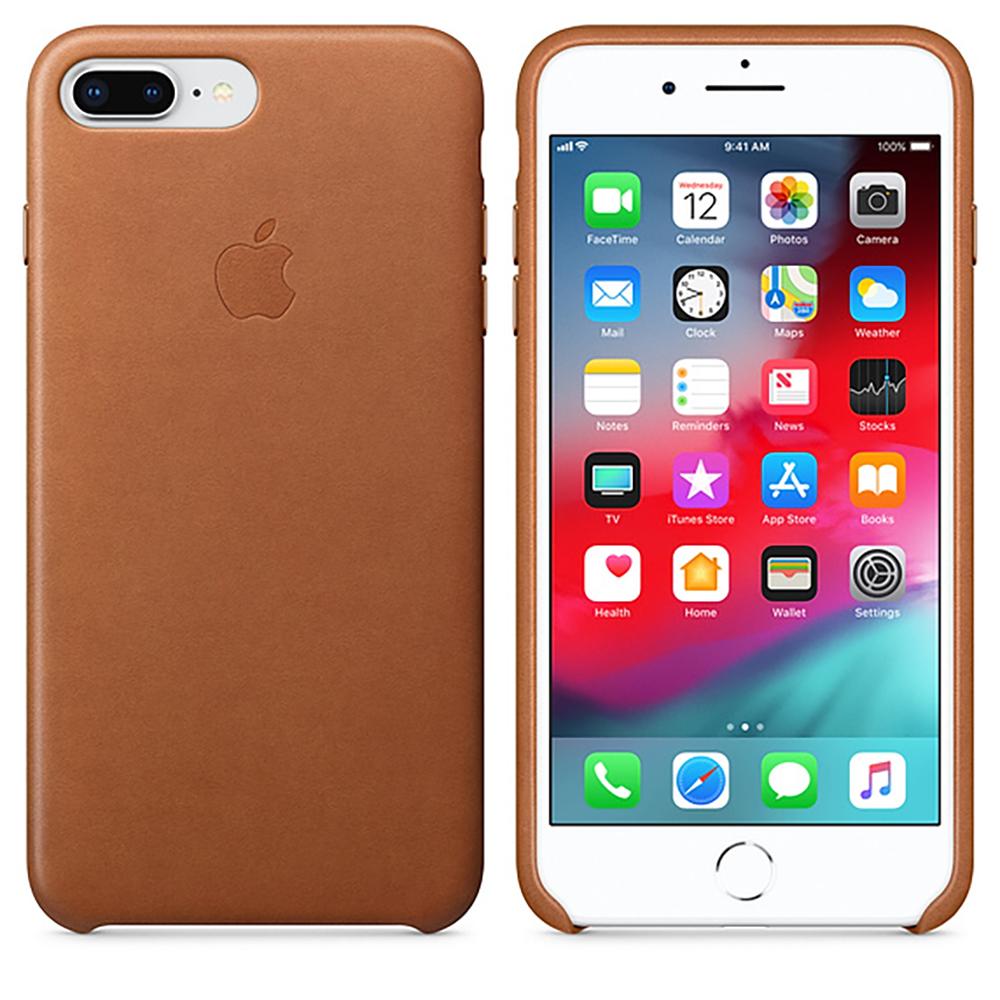 Купить Кожаный чехол oneLounge Leather Case Saddle Brown для iPhone 7 Plus   8 Plus OEM