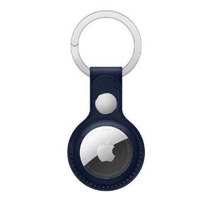 Купить Брелок с кольцом iLoungeMax Leather Key Ring Baltic Blue для AirTag ОЕМ