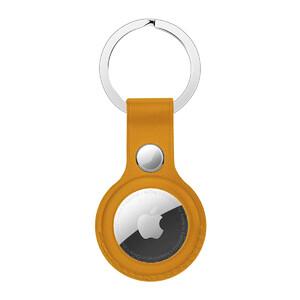 Купить Брелок с кольцом iLoungeMax Leather Key Ring California Poppy для AirTag ОЕМ