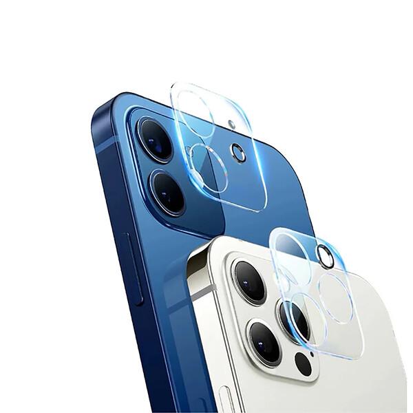 Защитное стекло на камеру iLoungeMax Lens Protection Tempered Glass Film для iPhone 12 mini