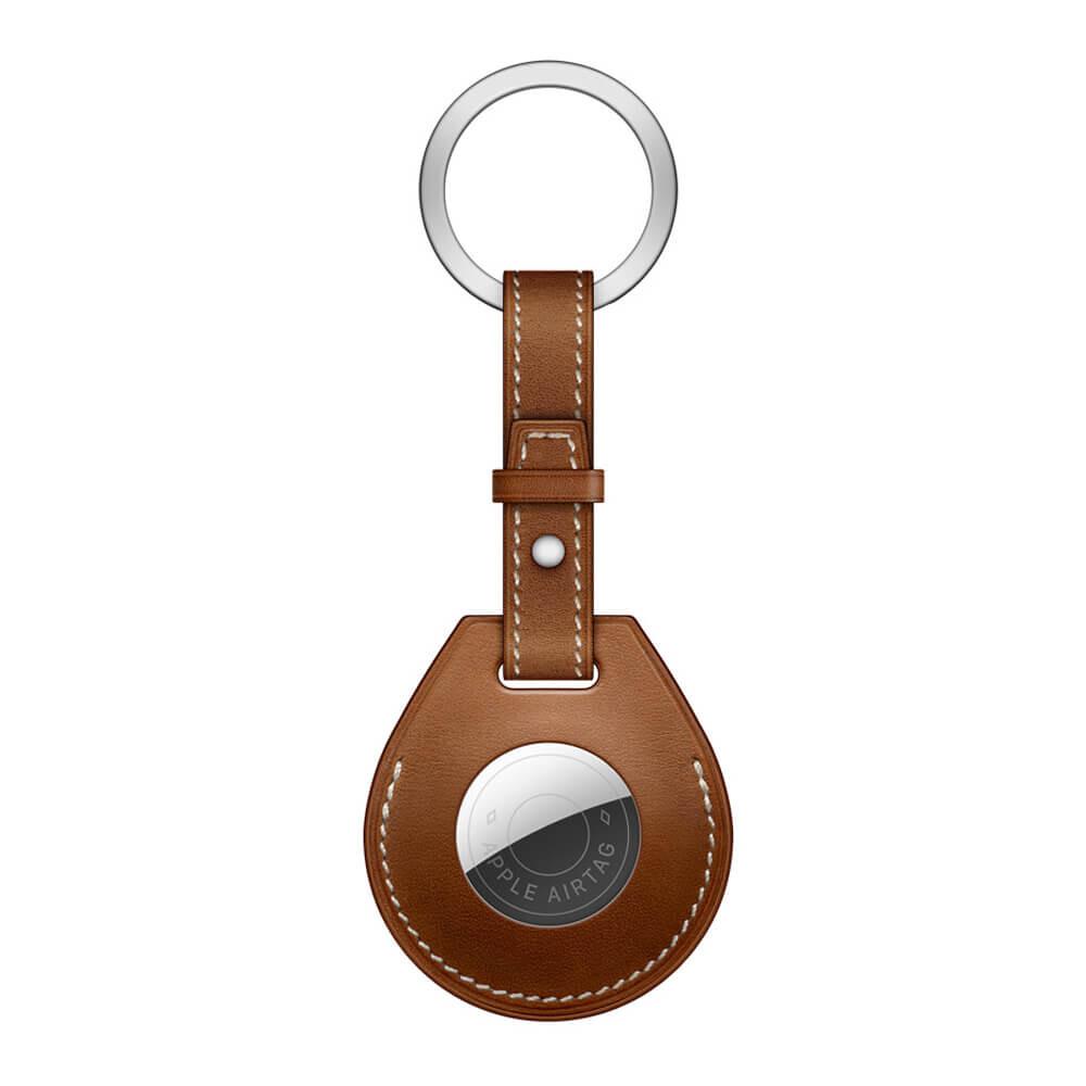 Брелок с кольцом iLoungeMax Key Ring для AirTag Fauve OEM