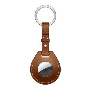 Купить Брелок с кольцом iLoungeMax Key Ring для AirTag Fauve OEM