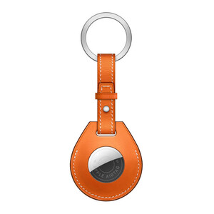 Купить Брелок с кольцом iLoungeMax Key Ring для AirTag Orange OEM