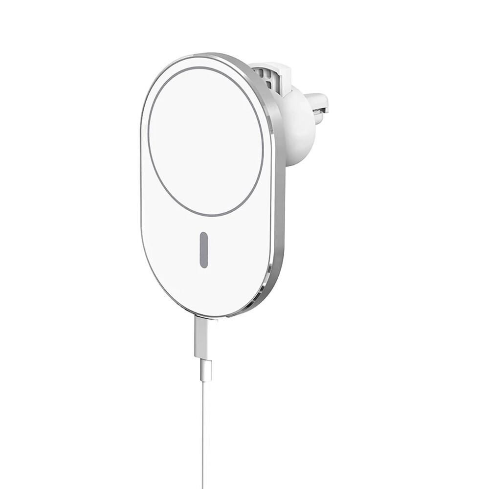 Купить Магнитный автодержатель с беспроводной зарядкой oneLounge MagSafe Car Charger для iPhone 12 mini | 12 | 12 Pro | 12 Pro Max