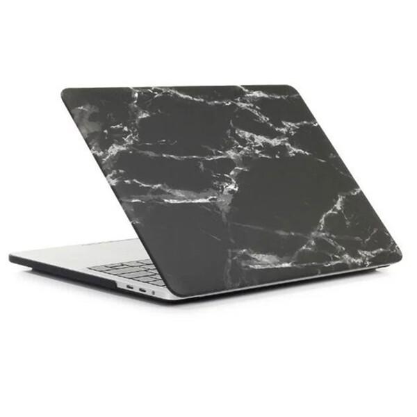 "Пластиковый чехол iLoungeMax Marble Black | White для MacBook Pro 13"" (M1 | 2020 | 2019 | 2018)"