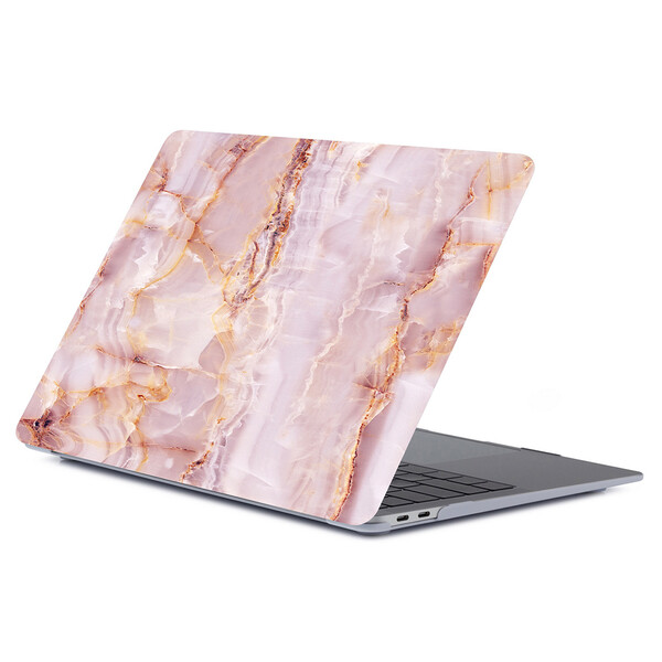 "Мраморный чехол iLoungeMax Marble Pink   Yellow для MacBook Air 13"" (M1   2020   2019   2018)"