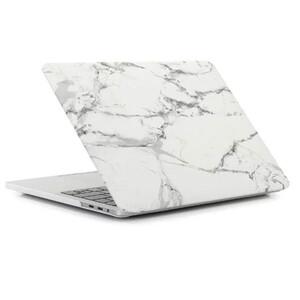 "Купить Пластиковый чехол oneLounge Marble White | Gray для MacBook Pro 13"" (M1 | 2020 | 2019 | 2018)"