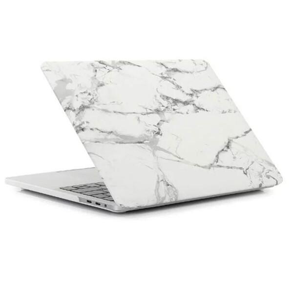 "Пластиковый чехол iLoungeMax Marble White | Gray для MacBook Pro 13"" (M1 | 2020 | 2019 | 2018)"