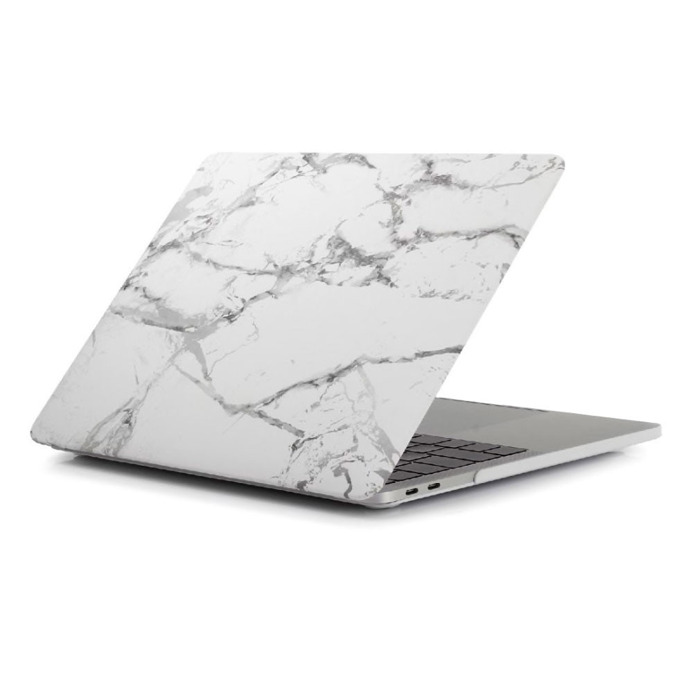 "Купить Мраморный чехол oneLounge Marble White | Gray для MacBook Pro 16"" (2019)"