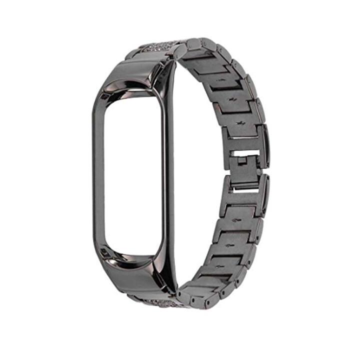 Ремешок iLoungeMax Metal Strap Black для Xiaomi Mi Band 3 | 4