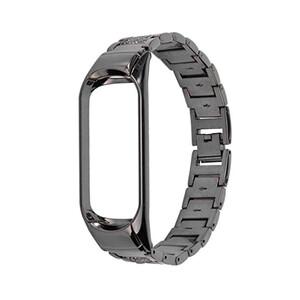 Купить Ремешок oneLounge Metal Strap Black для Xiaomi Mi Band 3/4