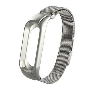 Купить Металлический ремешок oneLounge Milanese Loop Silver для Xiaomi Mi Band 3/4