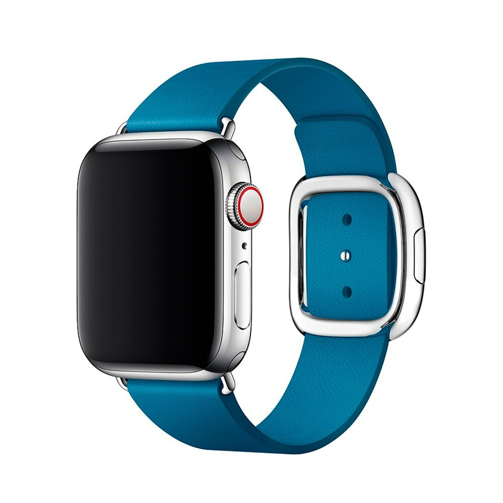 Ремешок oneLounge Modern Buckle Blue для Apple Watch 38mm/40mm Series 5/4/3/2/1 OEM