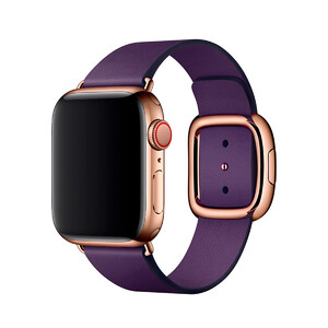 Купить Ремешок oneLounge Modern Buckle Dark Aubergine для Apple Watch 44mm | 42mm SE | 6 | 5 | 4 | 3 | 2 | 1 OEM