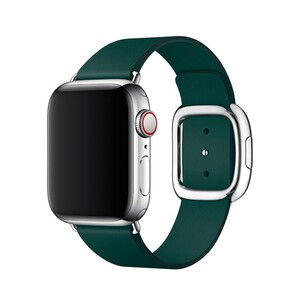 Купить Ремешок oneLounge Modern Buckle Green для Apple Watch 38mm/40mm Series 5/4/3/2/1 OEM