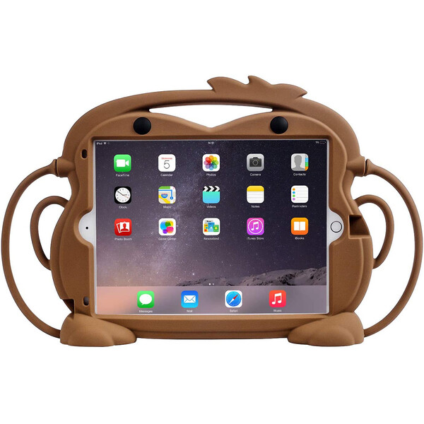 "Детский противоударный чехол iLoungeMax Monkey Brown для Apple iPad 7 | 8 10.2"" (2019 | 2020) | Air 3 10.5"" | Pro 10.5"""
