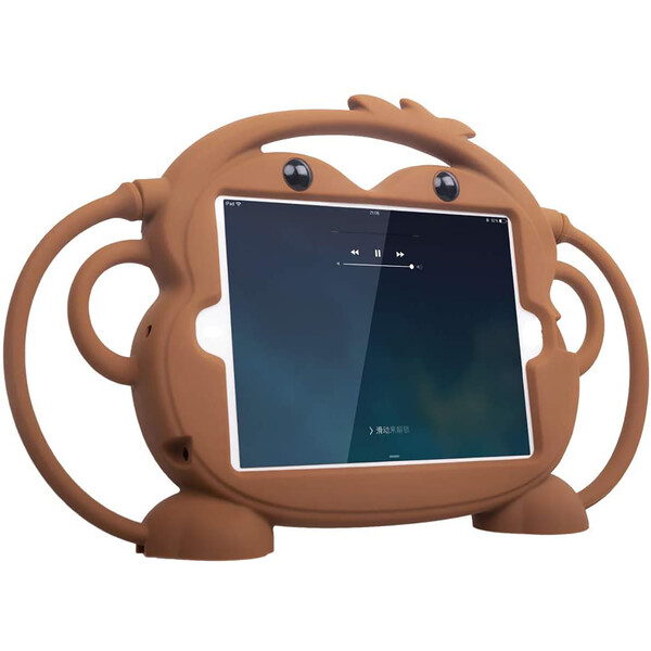 "Детский противоударный iLoungeMax Monkey Brown для Apple iPad mini 1 | 2 | 3 | 4 | 5 7.9"""