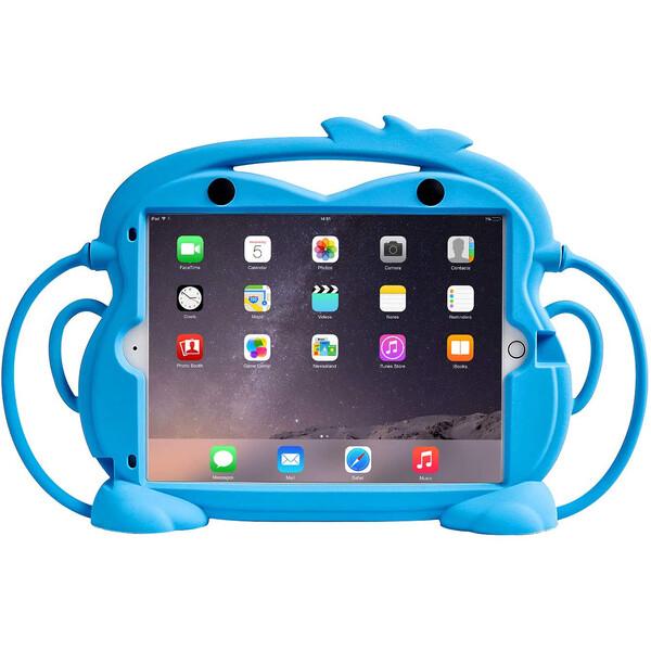 "Детский противоударный чехол iLoungeMax Monkey Blue для Apple iPad 7 | 8 10.2"" (2019 | 2020) | Air 3 10.5"" | Pro 10.5"""