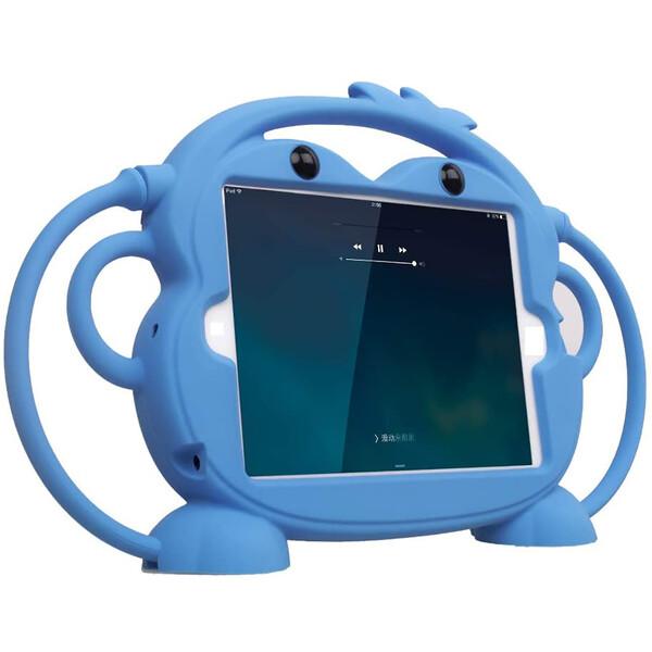"Детский противоударный iLoungeMax Monkey Blue для Apple iPad mini 1 | 2 | 3 | 4 | 5 7.9"""