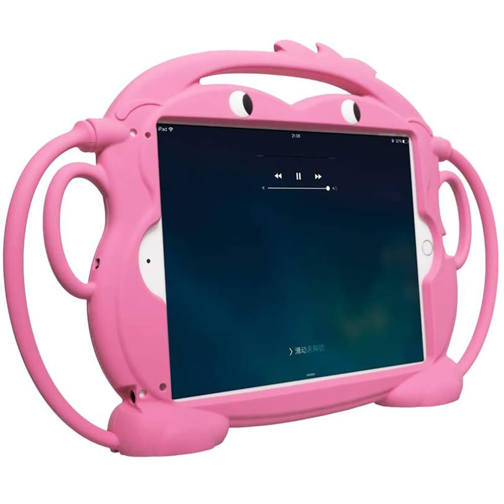 "Детский противоударный iLoungeMax Monkey Pink для Apple iPad Pro 9.7"" (2016)   iPad 9.7"" (2017   2018)   Air   Air 2"