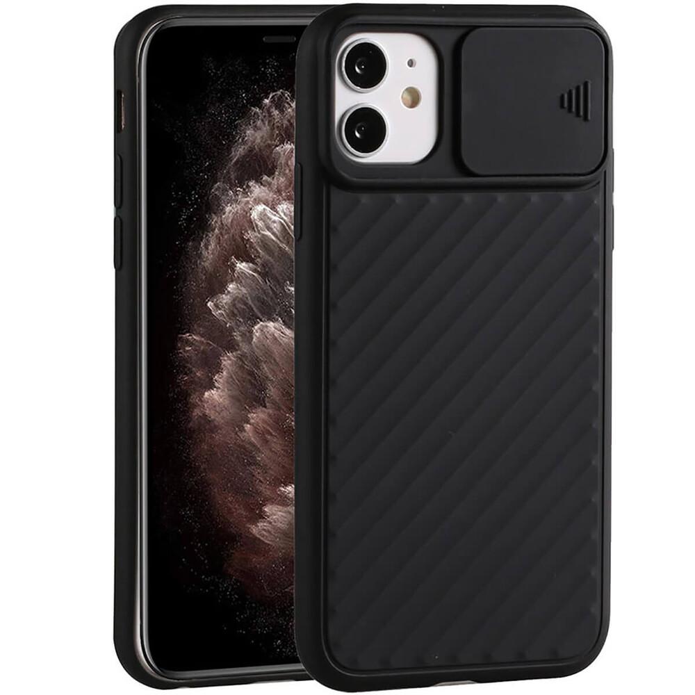 Купить Силиконовый чехол oneLounge Protection Anti-impact Luxury Black для iPhone 11