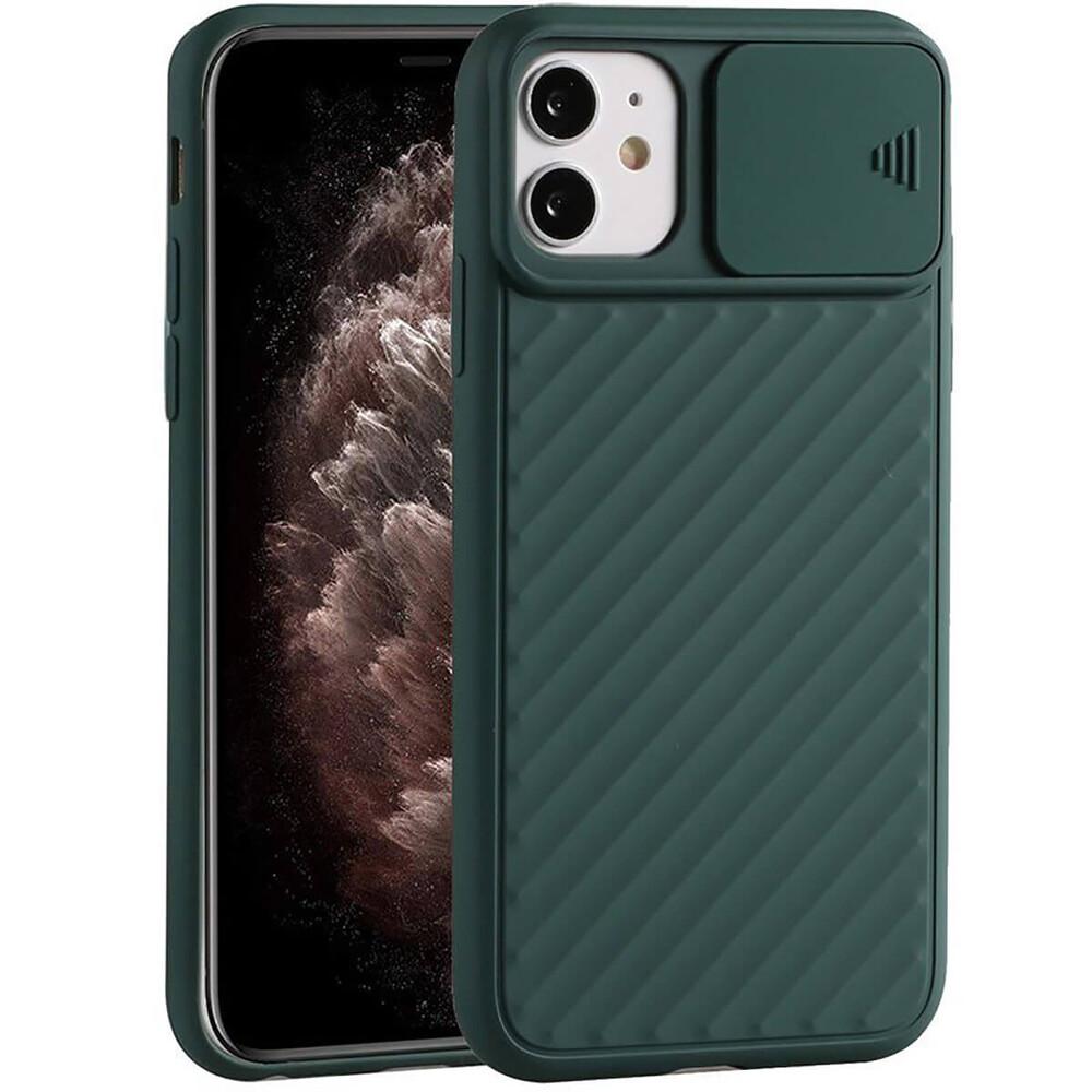Силиконовый чехол iLoungeMax Protection Anti-impact Luxury Forest Green для iPhone 11