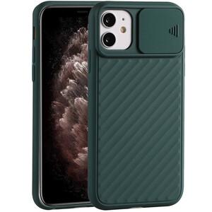 Купить Силиконовый чехол oneLounge Protection Anti-impact Luxury Forest Green для iPhone 11