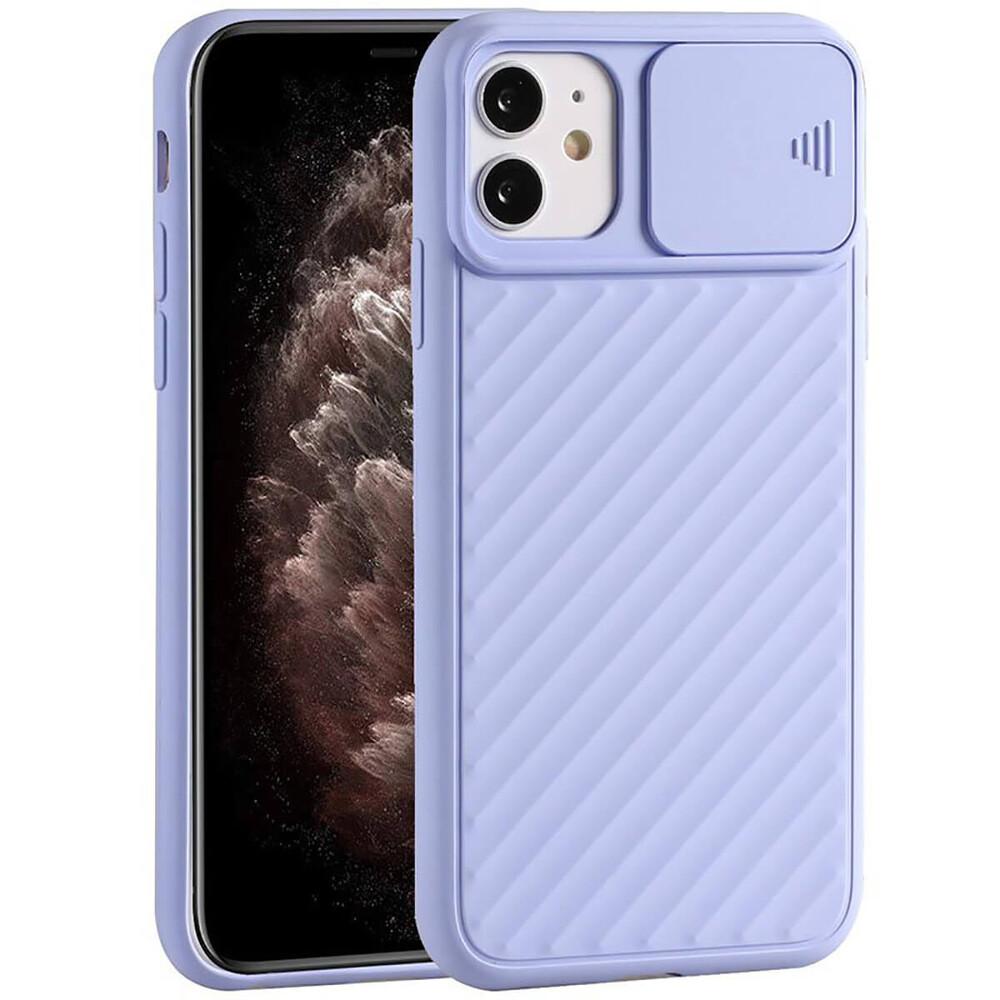 Силиконовый чехол iLoungeMax Protection Anti-impact Luxury Purple для iPhone 11