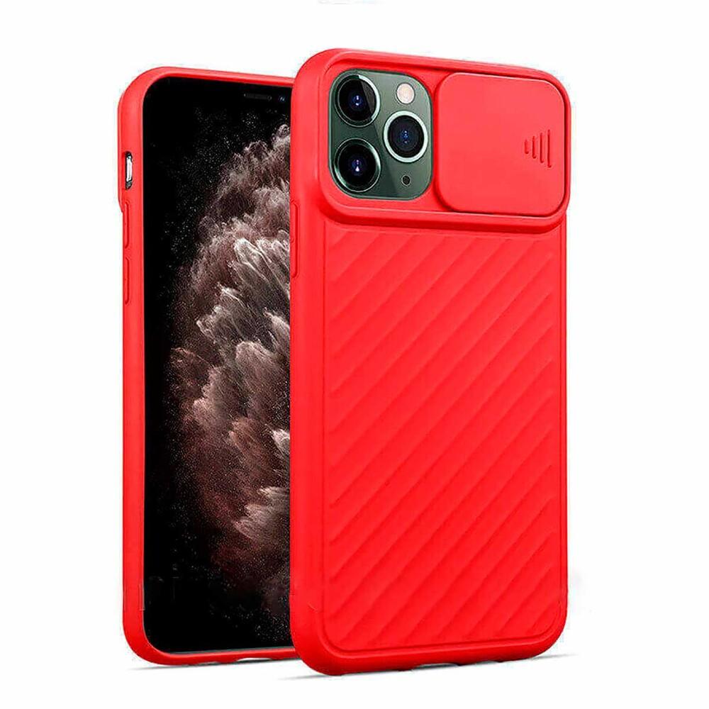 Силиконовый чехол iLoungeMax Protection Anti-impact Luxury Case Red для iPhone 11 Pro