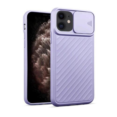 Силиконовый чехол iLoungeMax Protection Anti-impact Luxury Case Purple для iPhone 11 Pro