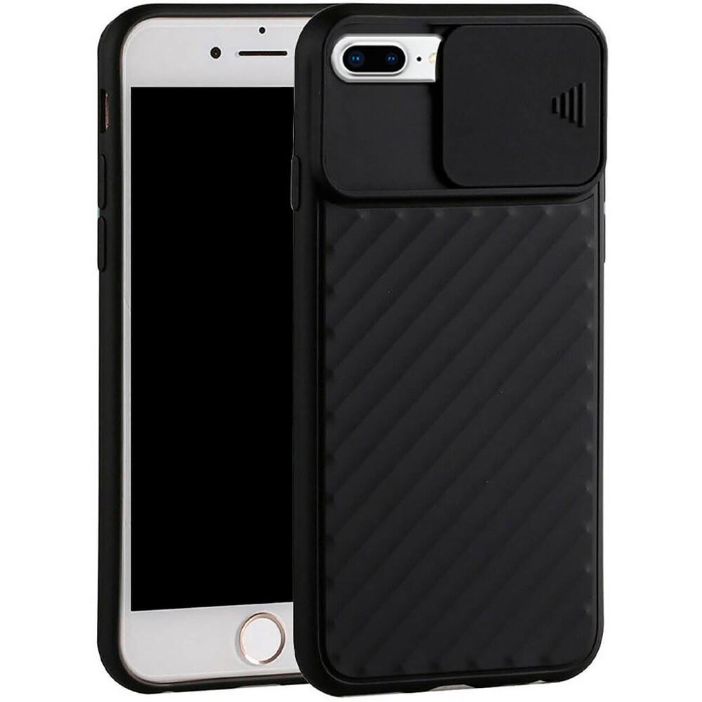 Силиконовый чехол iLoungeMax Protection Anti-impact Luxury Black для iPhone 7 Plus   8 Plus