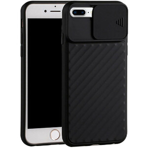 Купить Силиконовый чехол oneLounge Protection Anti-impact Luxury Black для iPhone 7 Plus | 8 Plus