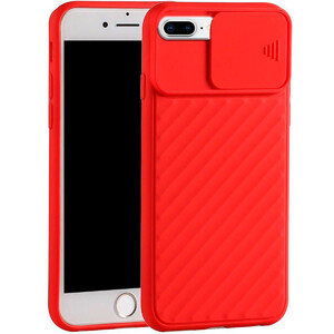 Купить Силиконовый чехол oneLounge Protection Anti-impact Luxury Red для iPhone 7 Plus | 8 Plus