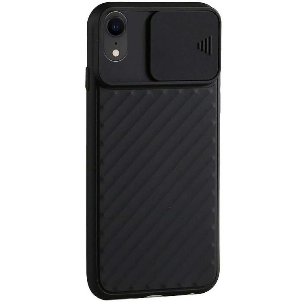 Силиконовый чехол iLoungeMax Protection Anti-impact Luxury Black для iPhone XR