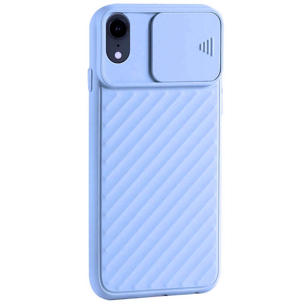 Купить Силиконовый чехол oneLounge Protection Anti-impact Luxury Purple для iPhone XR