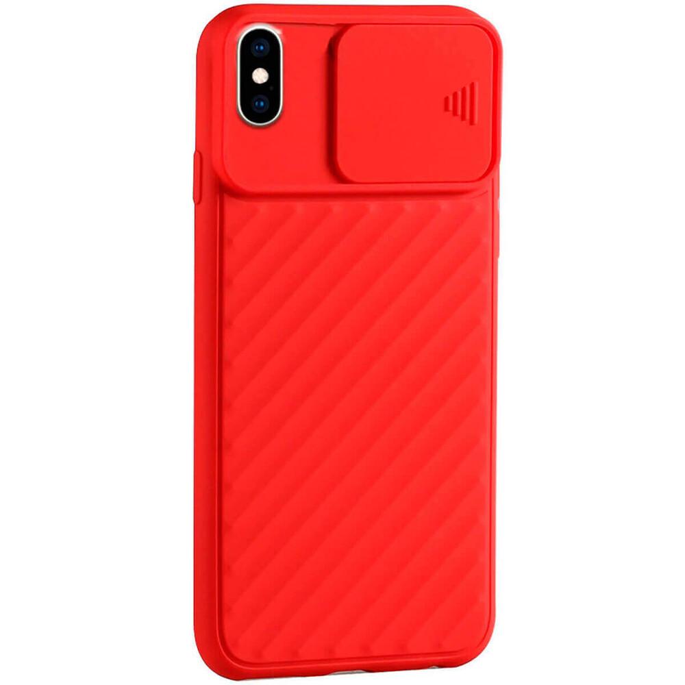 Силиконовый чехол iLoungeMax Protection Anti-impact Luxury Red для iPhone XS Max