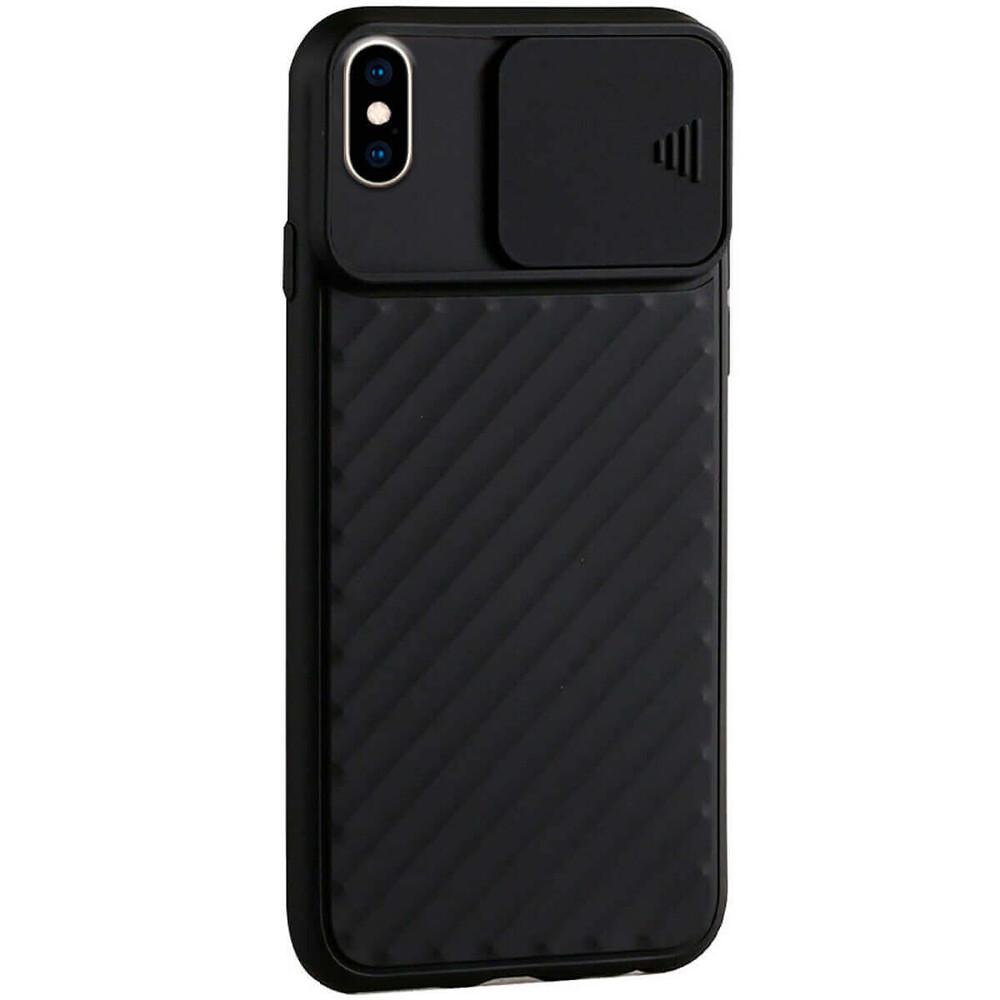Купить Силиконовый чехол oneLounge Protection Anti-impact Luxury Black для iPhone XS Max