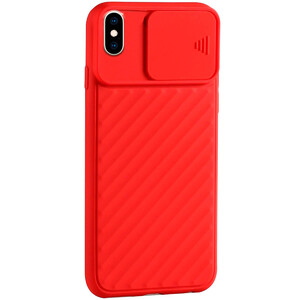 Купить Силиконовый чехол oneLounge Protection Anti-impact Luxury Red для iPhone X | XS